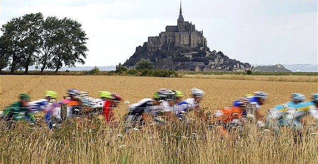 Mont_Saint-Michel_ tour de france
