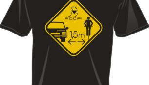 ACCPI MAGLIE sicurezza ciclismo un metro e mezzo